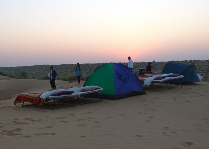 MOBILE TENTING CAMPS